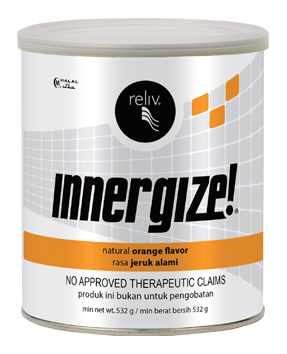 Reliv Innergize Performance Nutrition Orange